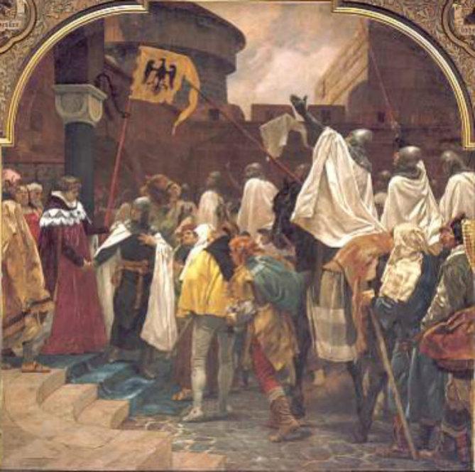 Preisimaa vallutamine (P.Jannseni maal)