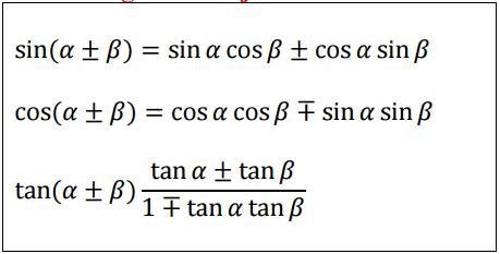 Trigonomeetriakahenurgasumma