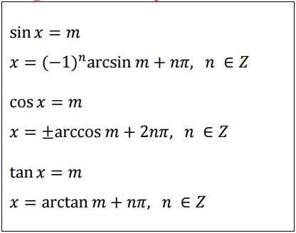 Trigonomeetriapõhivõrrandid