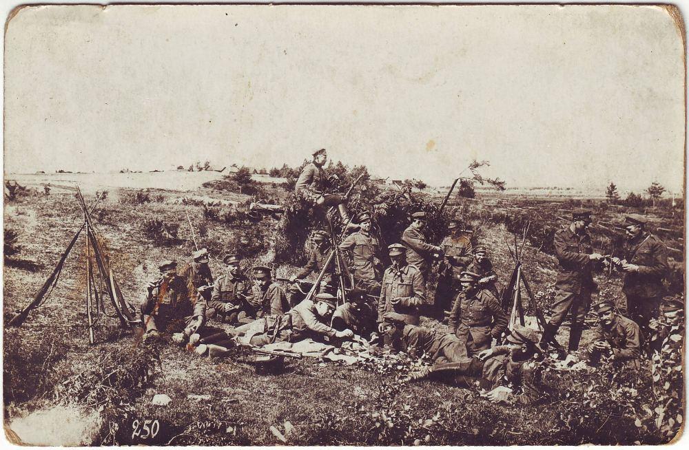 Vabadussõda, sõdurid Lätis