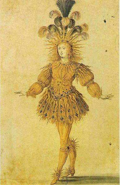 Kuningas Louis XIV kostüümis