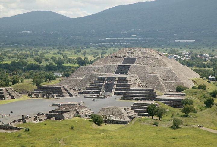 Kuupüramiid Teotihuacanis