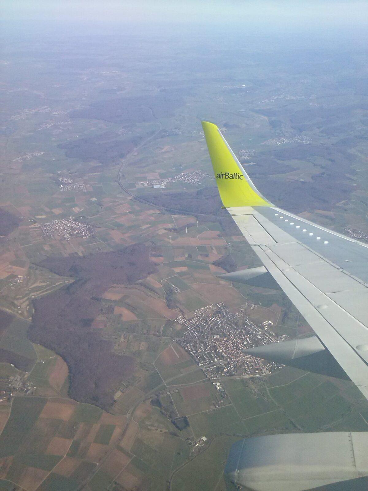 Lennuk õhus