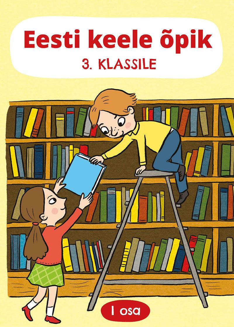 Eesti keele õpik 3. klassile, 1. osa, esikaas.