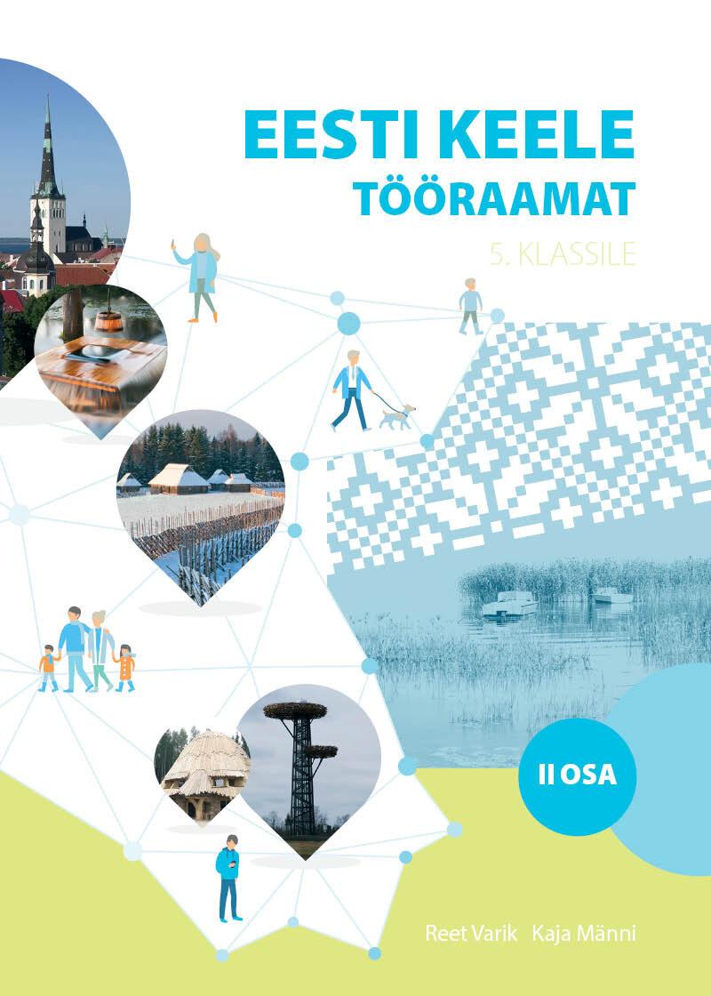 Eesti keele tööraamat 5. klassile, II osa