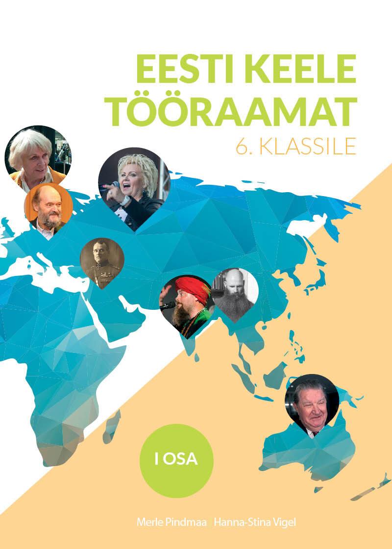 Eesti keele tööraamat kuuendale klassile, esimene osa.